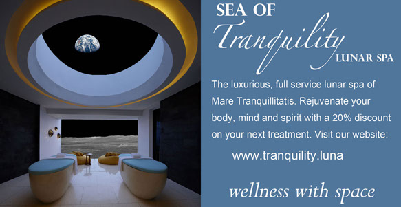 Sea of Tranquility Lunar Spa